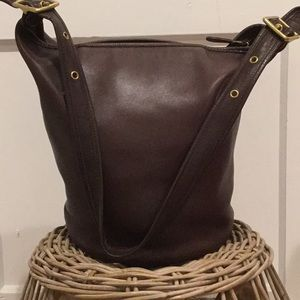 Vintage Coach Classic Bucket Bag